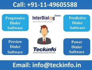 Types of Interdialog Dialer for Call Center Solutions by Teckinfo Solutions